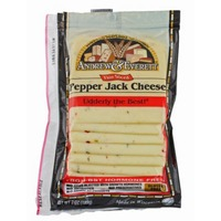 Andrew & Everett Pepper Jack Cheese Slices
