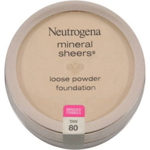 Neutrogena® Mineral Sheers Loose Powder Tan Mineral Sheers®