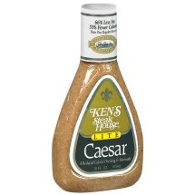Ken's Steak House Lite Caesar Salad Dressing, 16 Ounce Bottle