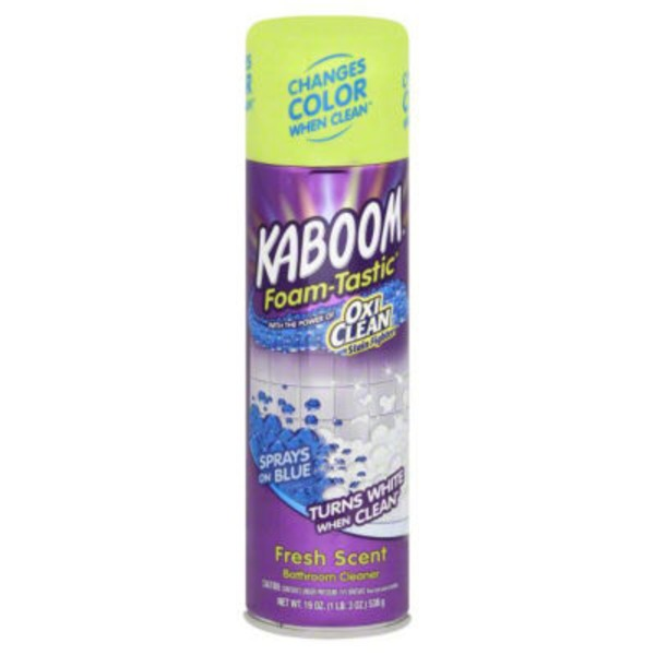 Kaboom Foam-Tastic Fresh Scent Bathroom Cleaner