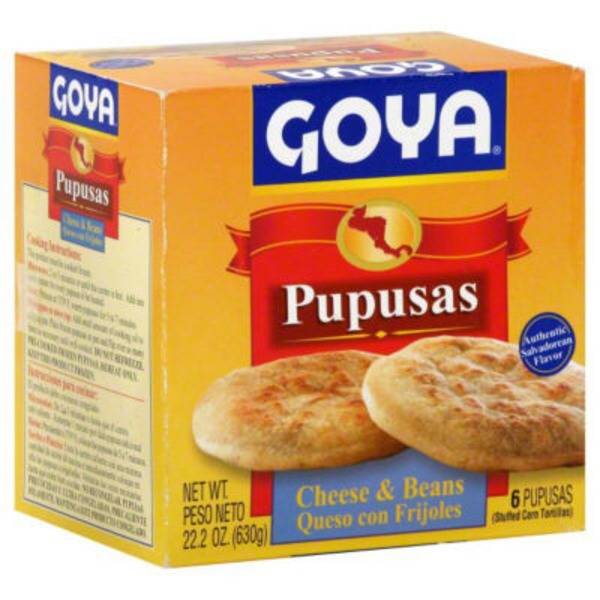 Goya Pupusas With Cheese & Beans