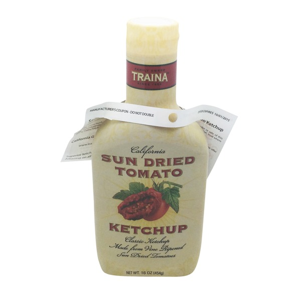Traina Sun Dried Tomato Ketchup