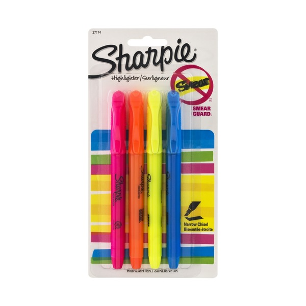 Sharpie Highlighter - 4 CT