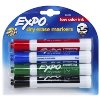 Expo Dry Erase Marker Assorted Chisel