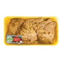 H-E-B Hatch Green Chili Seasoned Chicken Leg Quarters