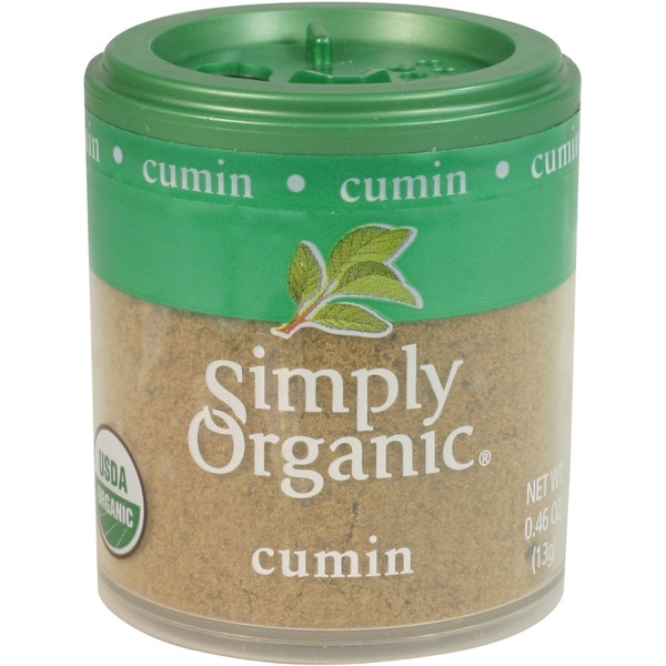 Simply Organic Certified Organic Cumin Seed Ground