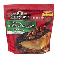 Jimmy Dean Fully Cooked Hearty Sausage Crumbles Turkey