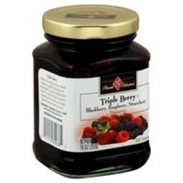 Kroger Private Selection Triple Berry Preserves