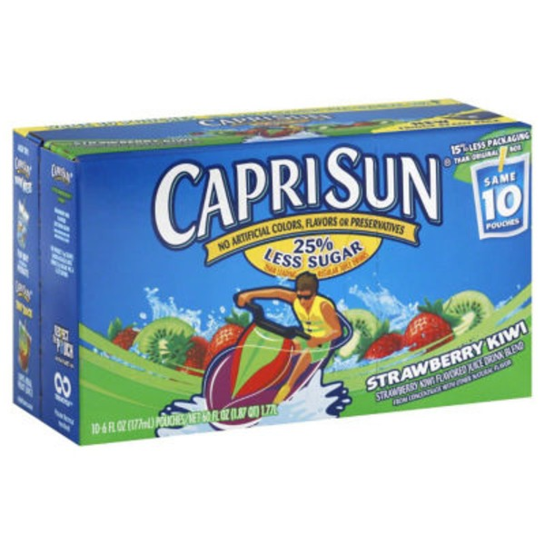 Caprisun Despicable Me Strawberry Kiwi Juice Drink