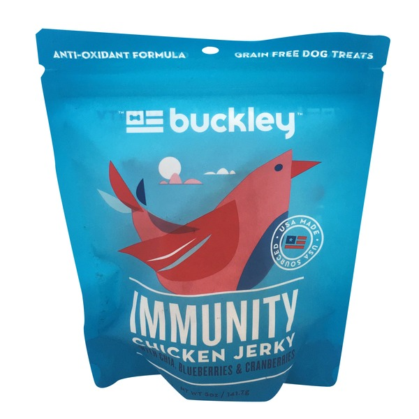 Buckley's Immunity Chicken Jerky Dog Treats