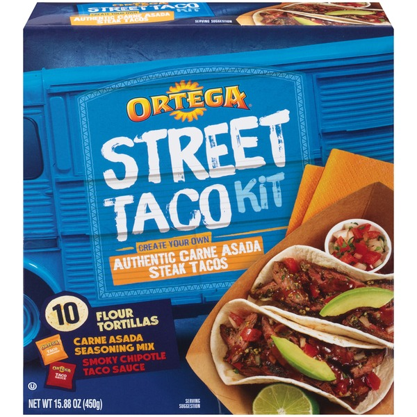 Ortega Authentic Carne Asada Street Taco Kit