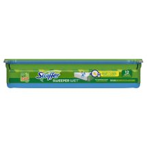 Swiffer with Gain Scent Sweeper Wet Mopping Cloths 12 ct Plastic Tub