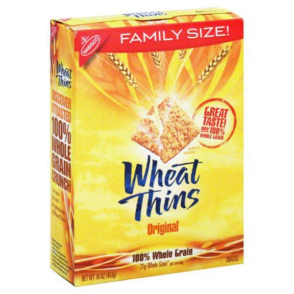 Wheat Thins Original Crackers