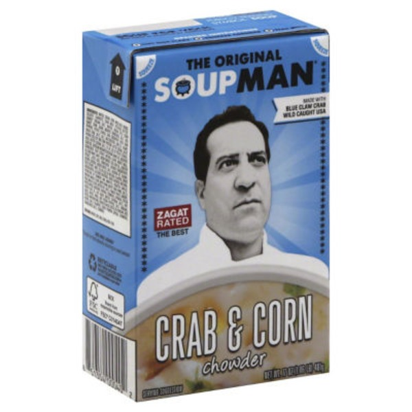 The Original Soupman Crab & Corn Chowder