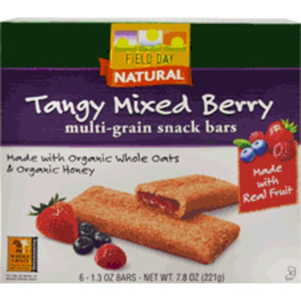Field Day Multi Grain Tangy Mixed Berry Bar