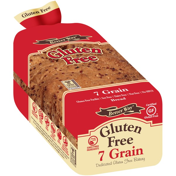 Better Way Gluten Free 7 Grain Bread