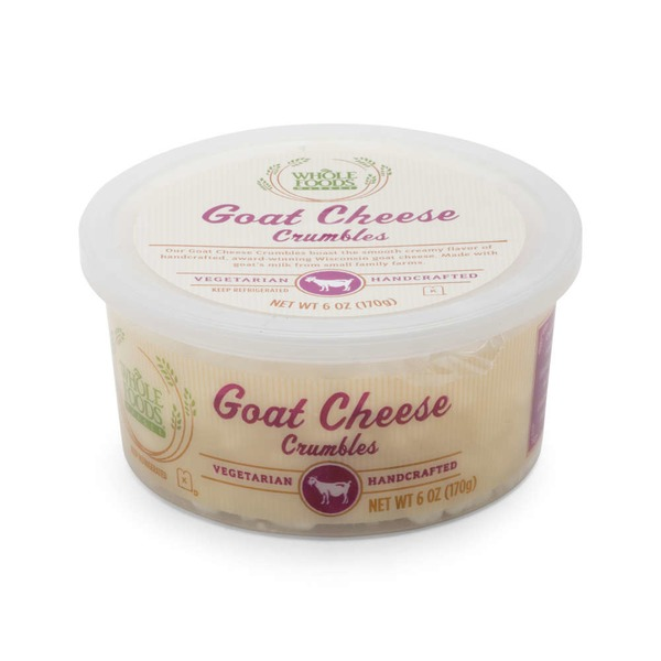 Whole Foods Market Goat Cheese Crumbles