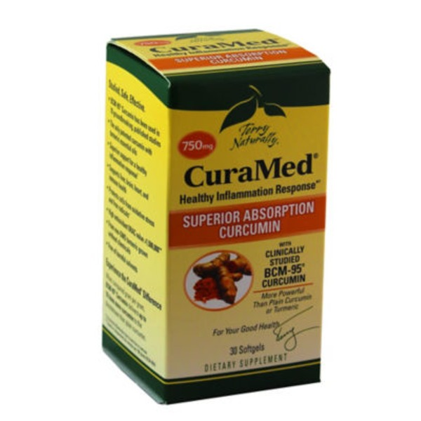 Europharma CuraMed 750 mg Antioxidant Softgels