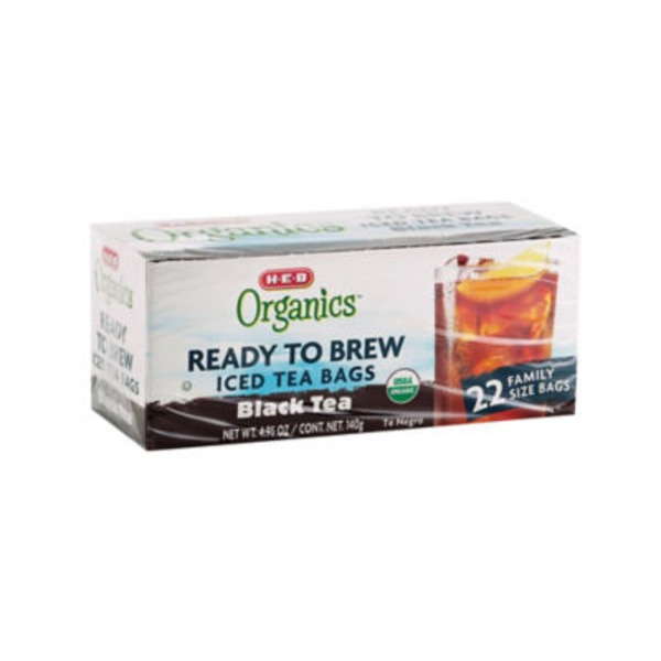 H-E-B Organics Ready To Brew Black Tea