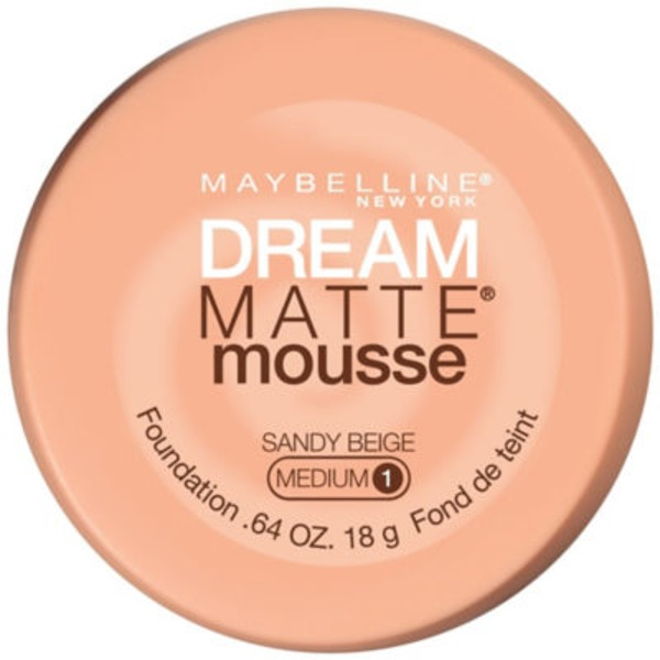 Dream Matte® Mousse Sandy Beige Foundation