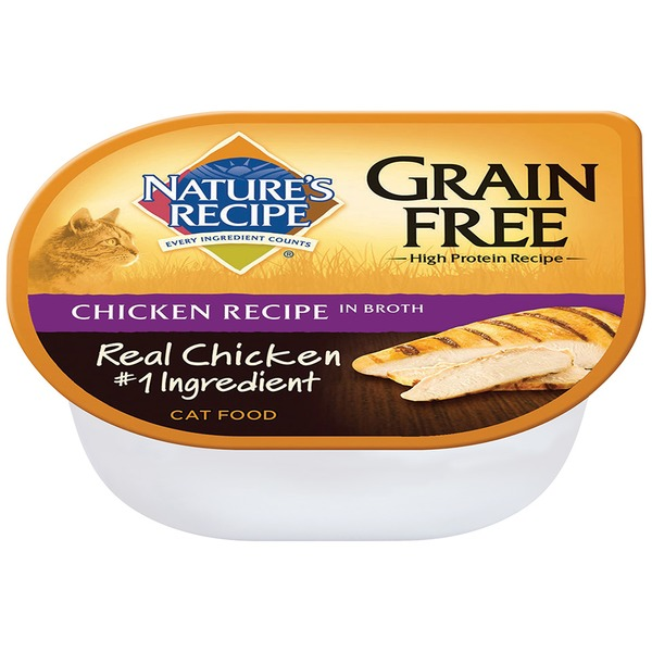 Nature's Recipe Grain Free Chicken Recipe in Broth Cat Food