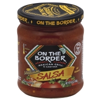 On The Border Med Salsa