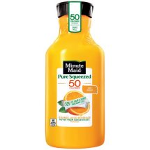 Minute Maid Pure Squeezed No Pulp Orange Juice Beverage, 59 oz