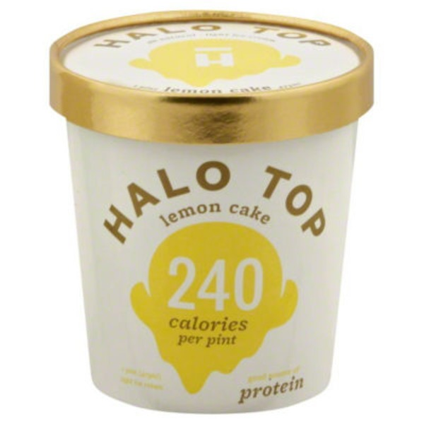 Halo Top Creamery Lemon Cake