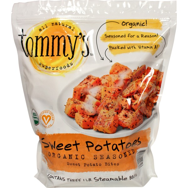 Tommy's Organic Seasoned Sweet Potato