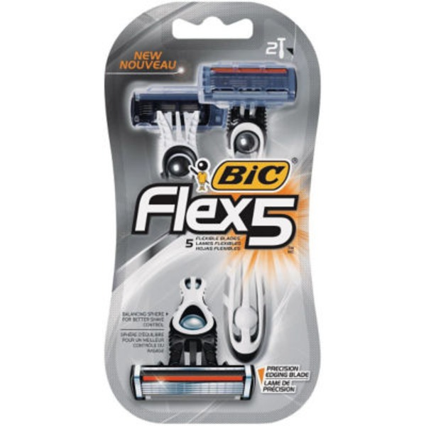 BiC Flex 5 Razors - 3 CT