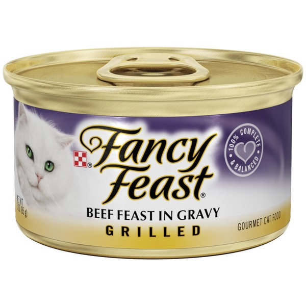Fancy Feast Wet Grilled Beef Feast in Gravy Cat Food