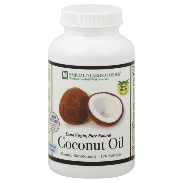 Emerald Laboratories Coconut Oil, Softgels