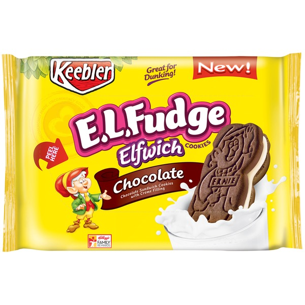 E.L. Fudge Elfwich Chocolate Cookies