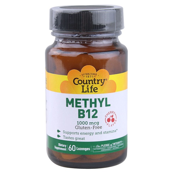 Country Life Methyl B12 1000 mcg Lozenges