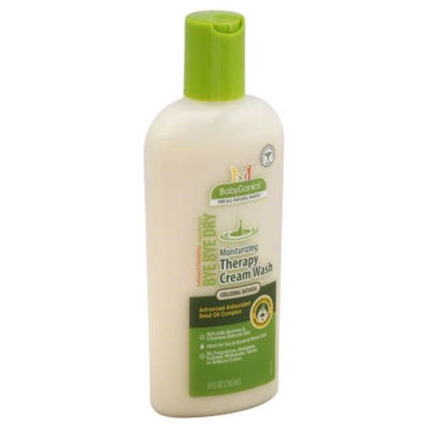 BabyGanics Moisturizing Therapy Cream Wash