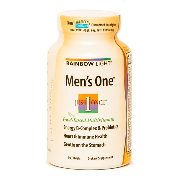 Rainbow Light Men's One Food-Based Multivitamin - 90 CT