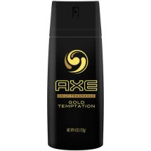 AXE Gold Temptation Body Spray for Men 4 oz