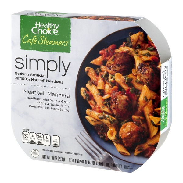 Healthy Choice Simply Steamers Meatball Marinara