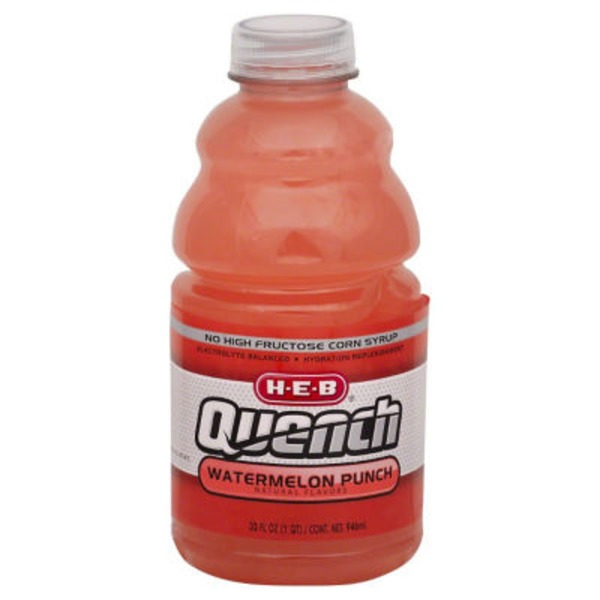H-E-B Quench Watermelon Punch