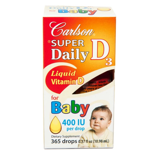 Carlson Labs Liquid Vitamin D Baby Drops