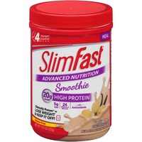 Slimfast Advanced Nutrition Smoothie Vanilla Cream Meal Replacement Shake Mix
