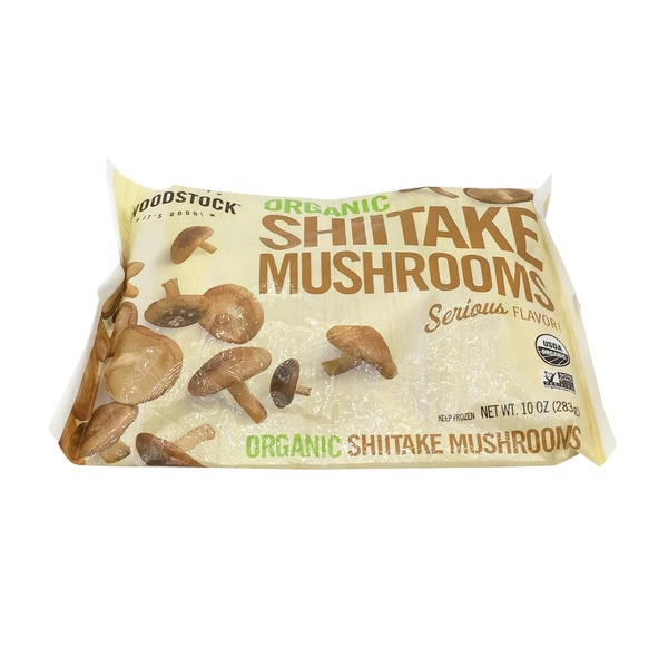 Woodstock Farms Organic Shiitaki Mushrooms