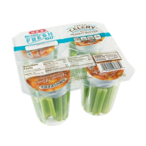 Celery With Pb Snap Pack 4 Count