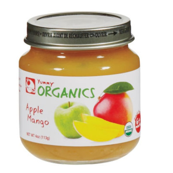 Yummy Organics 2nd Foods Apple Mango Baby Food