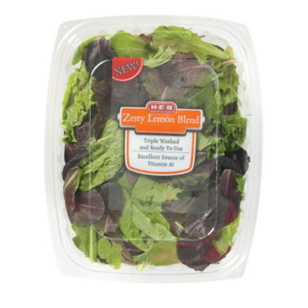 H-E-B Zesty Lemon Blend Salad