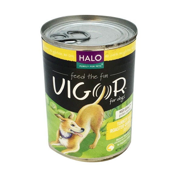 Halo Vigor Turkey & Quail Canned Dog Food
