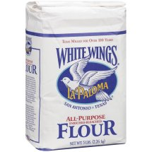 La Paloma White Wings All-Purpose Enriched-Bleached Flour, 5 lbs