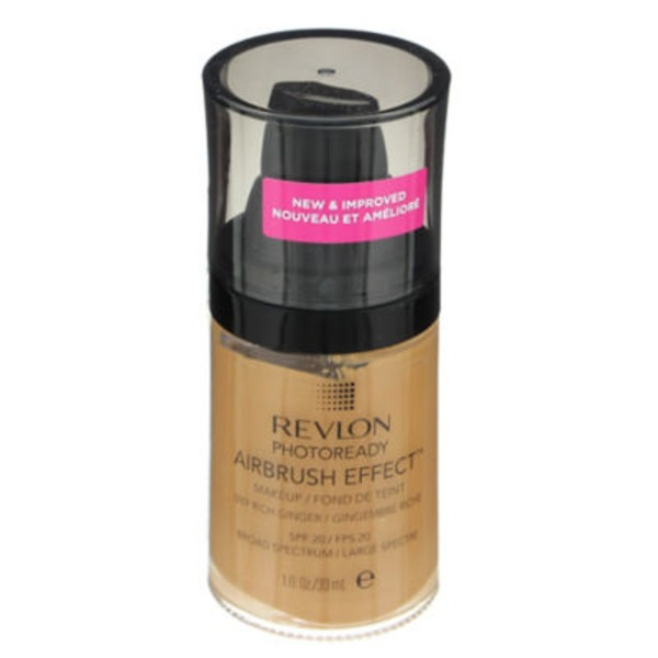 Revlon PhotoReady Airbrush Effect Makeup, Rich Ginger