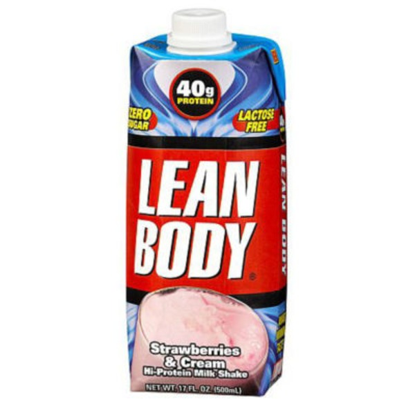 Labrada Strawberries & Cream Lean Body Hi Protein Milk Shake
