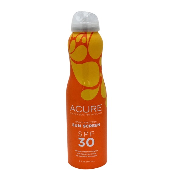 Acure Sunscreen SPF 30